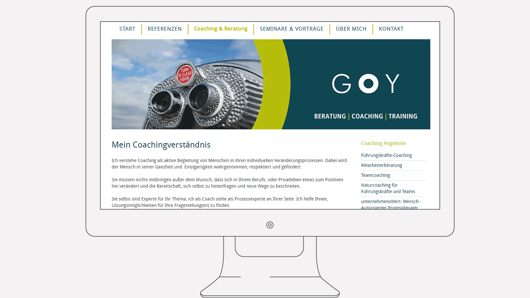 Goy Coaching - Internet Caching