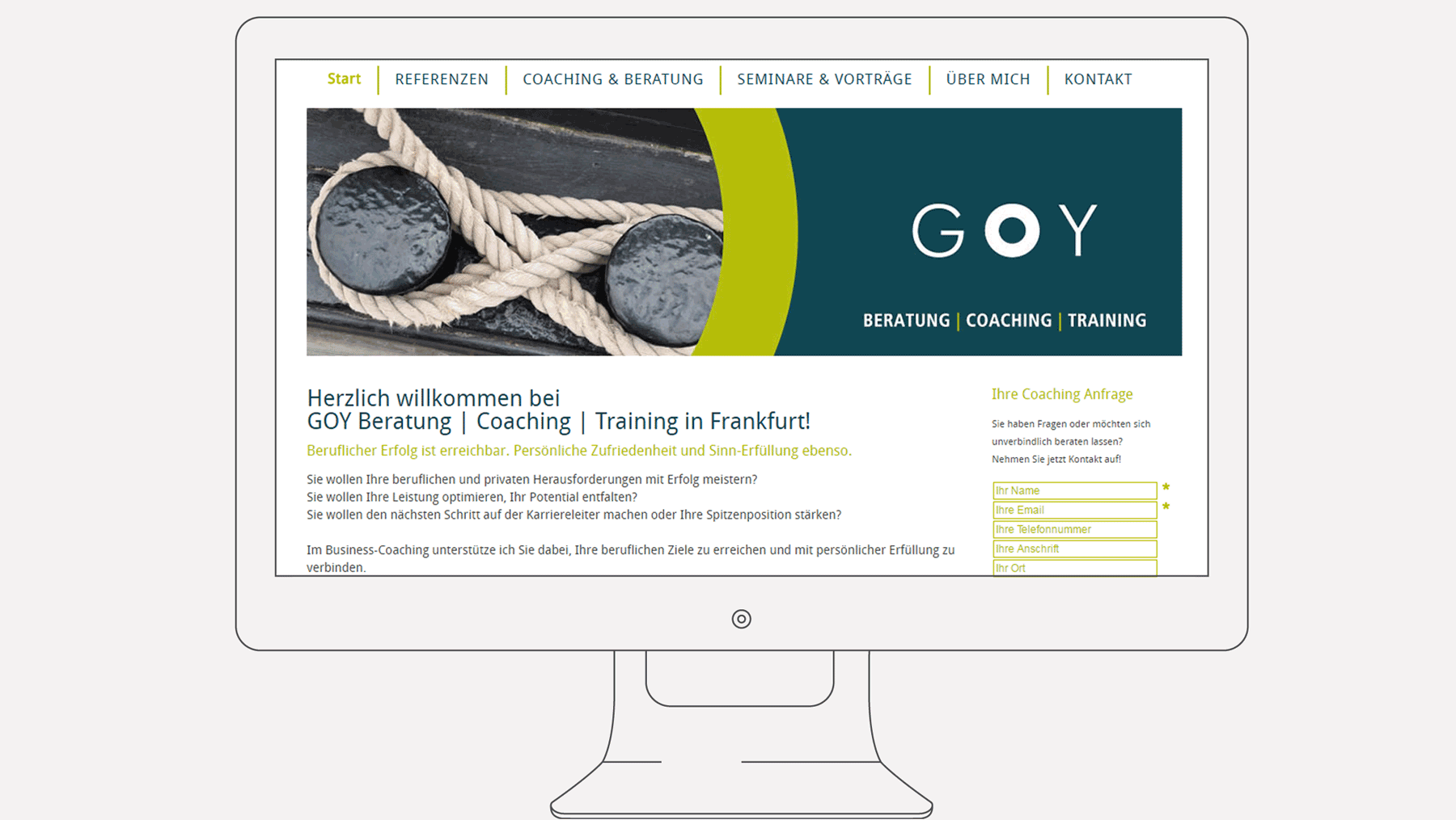 Goy Coaching - Internet Start