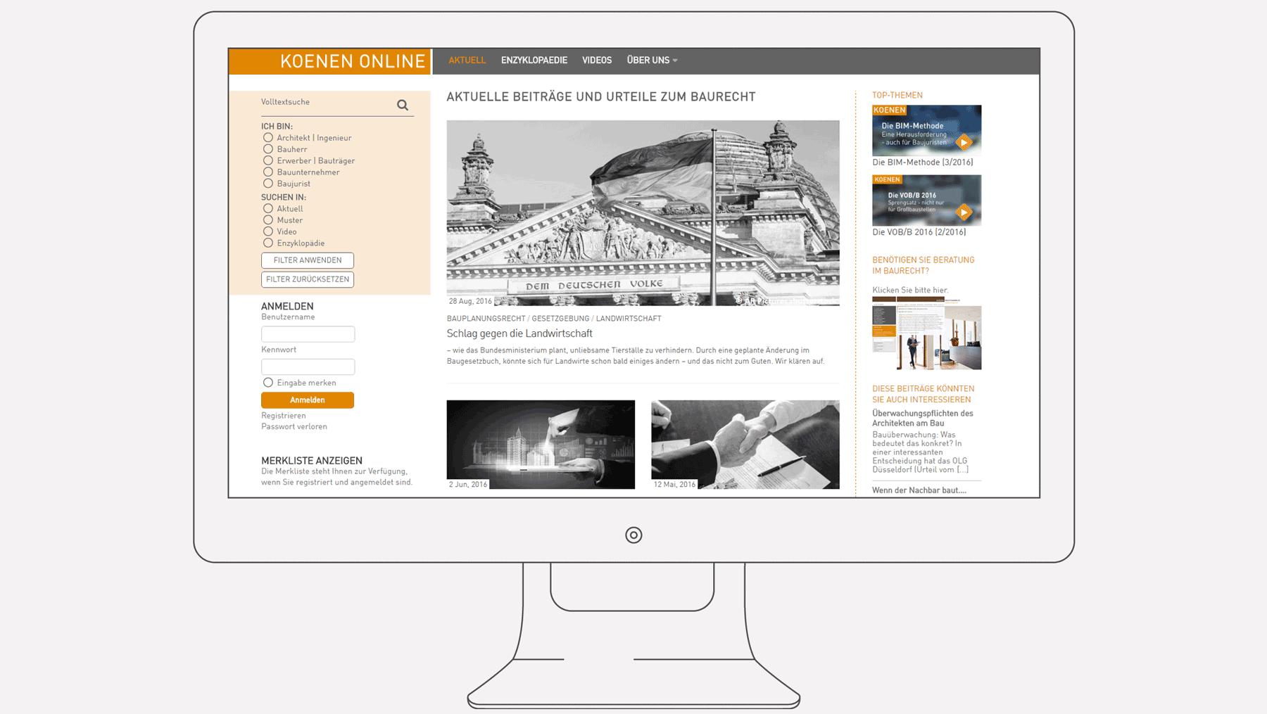 Koenen Online - Startseite