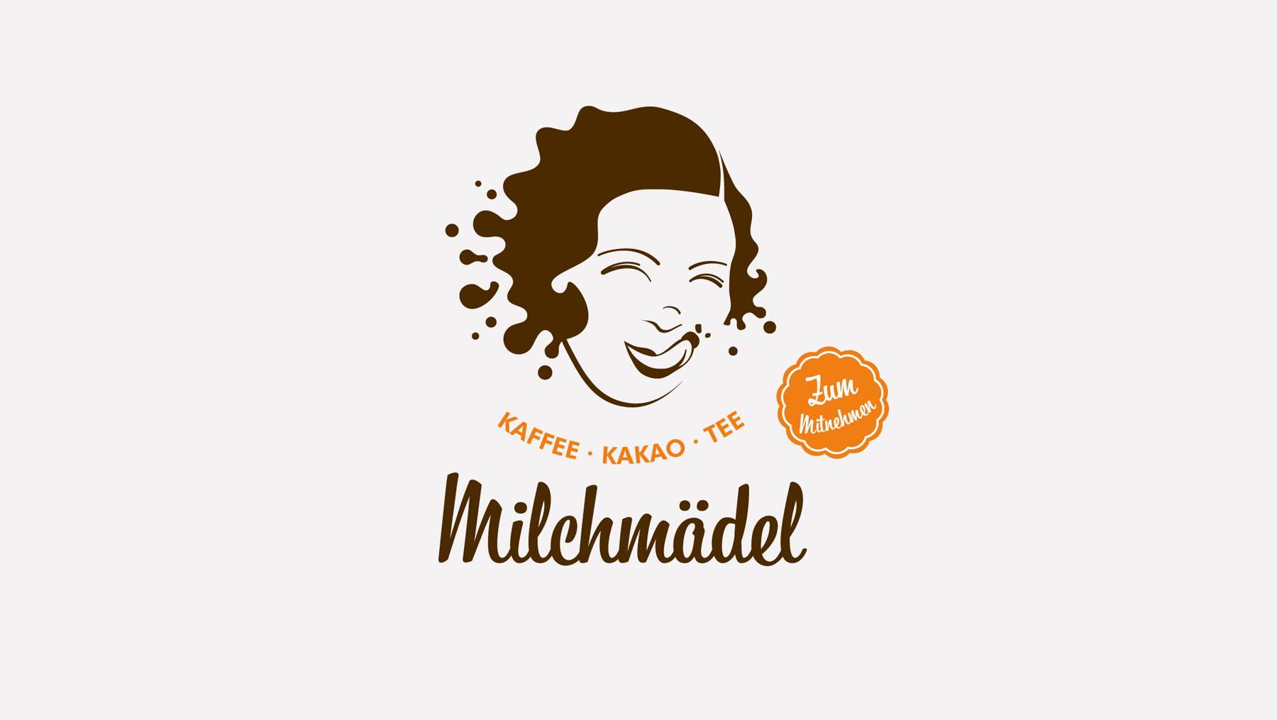 Logo - Milchmädel Cafe Kakao Tee