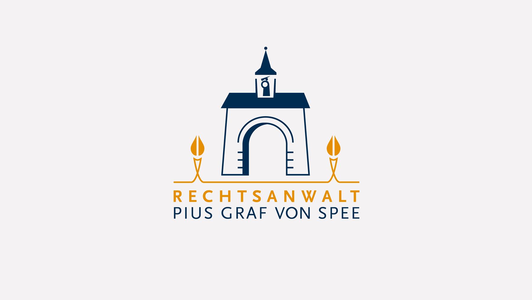 Logo - Rechtsanwalt Pius Graf von Spee