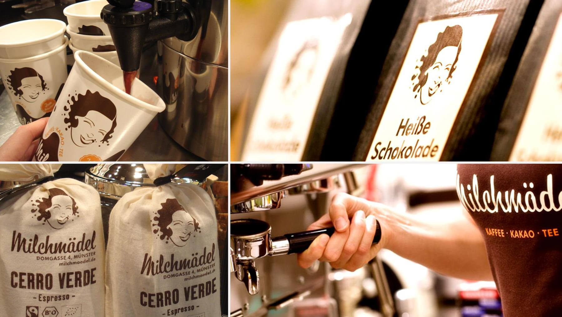 Milchmädel - Shirt Kakao Kaffee Trinkbecker Foto Copyright Ralf Kleimann