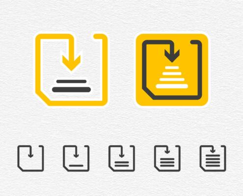 Piktogramme - Zeichen Informationen Grafik