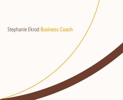 Stephanie Ekrod - Businesscoaching