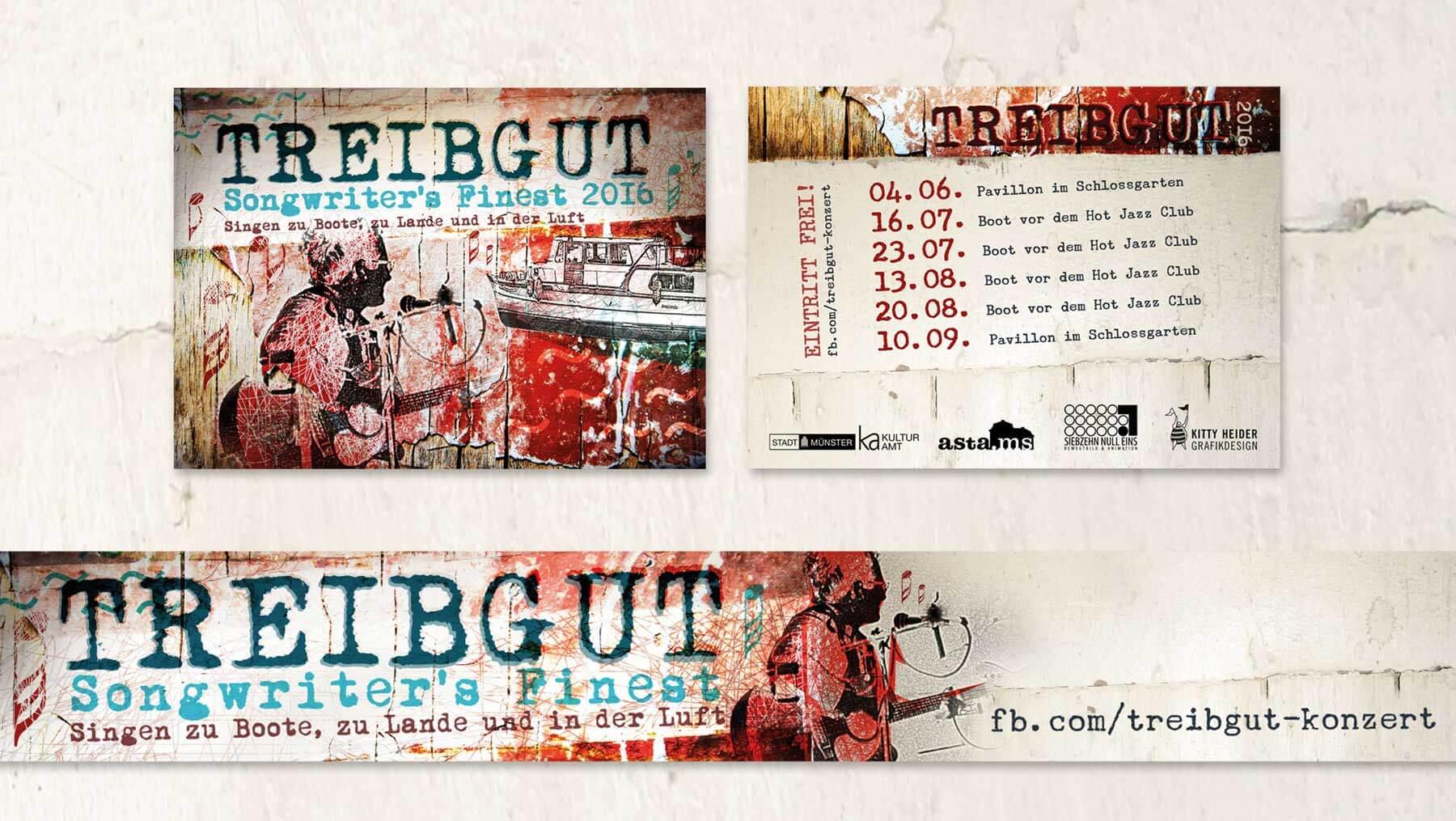 Treibgut - Songwriters Finest Flyer Banner