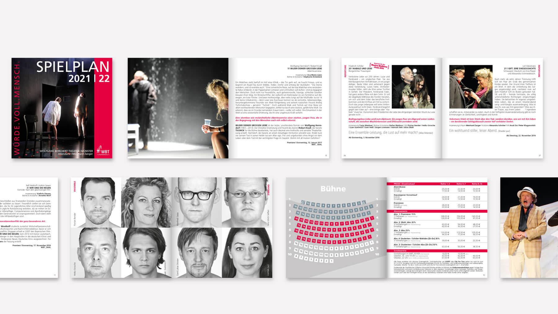 Wolfgang-Borchert-Theater-Broschüre